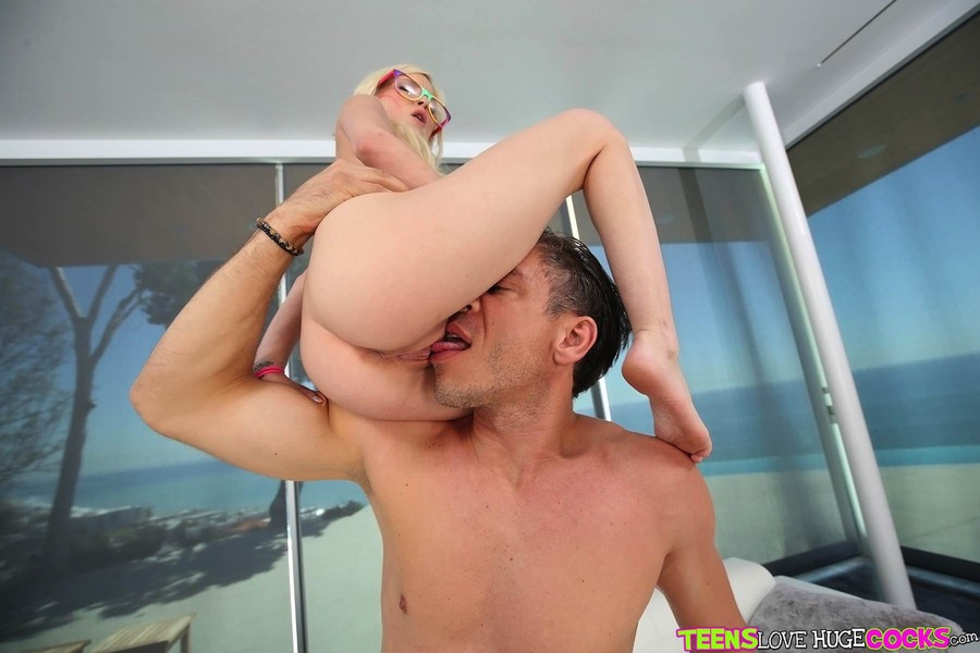 Perfect blonde meets black hung lover - 3 part 3